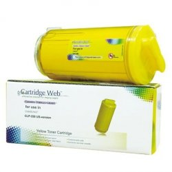 Toner Cartridge Web Yellow Samsung CLP 350 zamiennik CLP-Y350A