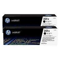 Zestaw dwóch tonerów HP 201X do LaserJet M277, Pro M252/277 | 2 x 2,8k | black
