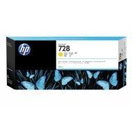 Tusz HP 728 do Designjet T730/T830 | 300ml | yellow