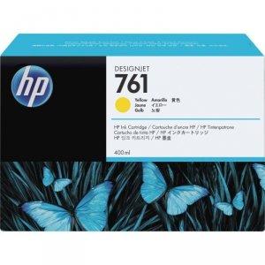 Tusz HP 761 do Designjet T7100/T7200 | 400ml | yellow