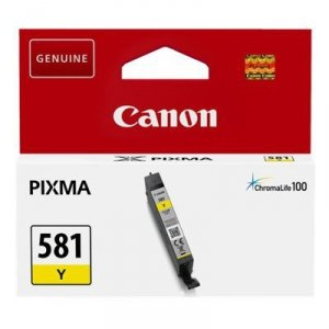 Tusz Canon CLI-581Y do   Pixma TR7550/TR8550/TS6150  | 5,6ml | yellow