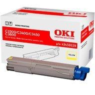 Toner Oki do C-3300/3400/3450/3600 | 2 500 str. | yellow EoL