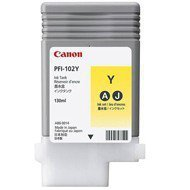 Tusz  Canon  PFI102Y do  IPF-500/600/700/710/720/750 | 130ml | yellow