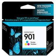 Tusz HP 901 do Officejet 4500, J4580/4680 | 360 str. | CMY