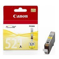 Tusz   Canon  CLI521Y do  iP-3600/4600, MP-540/620/630/980 | 9ml | yellow