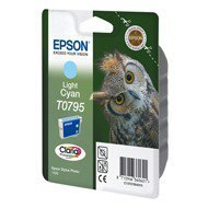 Tusz Epson  T0795  do  Stylus Photo  1400/1500W/P50/PX660 | 11,1ml | light cyan
