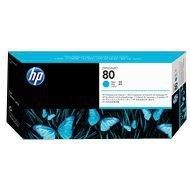 Głowica + gniazdo czyszczące HP 80 do Designjet 1050/1055 | cyan