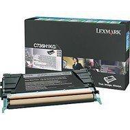 Kaseta z tonerem Lexmark do C736 | zwrotny | 12 000 str. | black