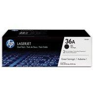 Zestaw dwóch tonerów HP 36A do LaserJet P1505, M1120/1522 | 2x2 000 str. | black