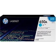 Toner HP 650A do Color LaserJet CP5525, M750 | 15 000 str. | cyan