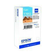 Tusz Epson  T7012  do  WP-4015DN/4095DN/4515DN/4525DNF XXL | 34,2ml | cyan