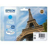 Tusz Epson  T7022  do WP-4015DN/4095DN/4515DN/4525DNF | 21,3ml | cyan