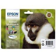 Zestaw tuszy  Epson T0895  do  Stylus  S-20/21, SX-100/105/110  | 16,3ml | CMYK