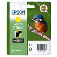 Tusz  Epson T1594  do  Stylus  Photo  R2000 | 17ml |  yellow