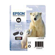 Tusz Epson  T2631 do  XP-600/700/800 | 8,7ml |  photo black