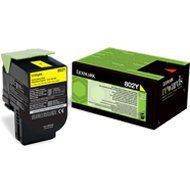 Kaseta z tonerem Lexmark 802Y do CX-310/410/510 | zwrotny | 1 000 str. | yellow