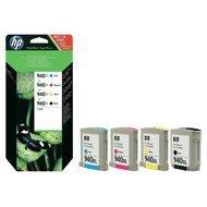 Zestaw czterech tuszy HP 940XL do OJ 8500 | 2200(BK) 3 x 1400(COL) str. | CMYK