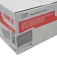 Zespół bębnów światłoczułych Oki do C301/321/331/511 uszkodzone opakowanie