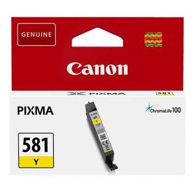 Tusz Canon CLI-581Y do   Pixma TR7550/TR8550/TS6150  | 5,6ml | yellow