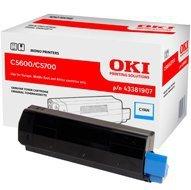 Toner Oki do C-5600/5700 | 2 000 str. | cyan