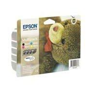 Zestaw tuszy Epson T0615 do Stylus D-68/88,DX-3800/3850/4200/4800 | 32ml | CMYK