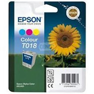 Tusz Epson T018   Stylus  Color  680/685 | 37ml |   CMY