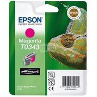 Tusz Epson T0343  do  Stylus Photo 2100 | 17ml |   magenta