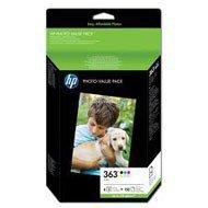 Zestaw sześciu tuszy foto HP 363 do Photosmart 3210/3310/8250 | 150 ark. foto