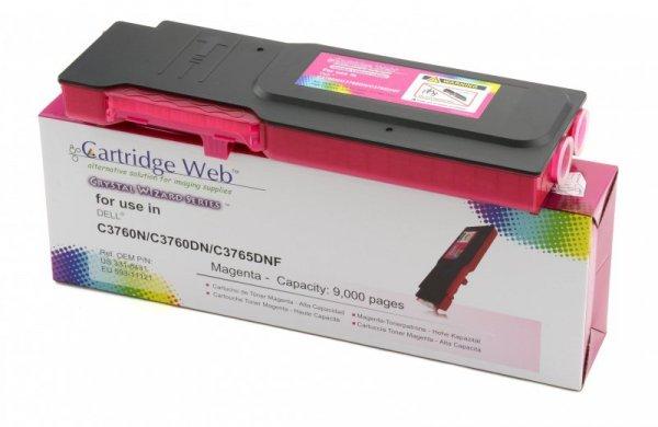 Toner Cartridge Web Magenta Dell 3760 zamiennik 593-11121