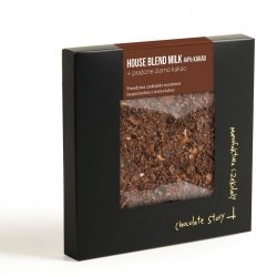House Blend Milk 44% kakao + prażone ziarno kakao