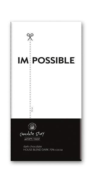 Czekolada gorzka z plakatem BALSI Im/Possible [House Blend Dark 70%] 50g