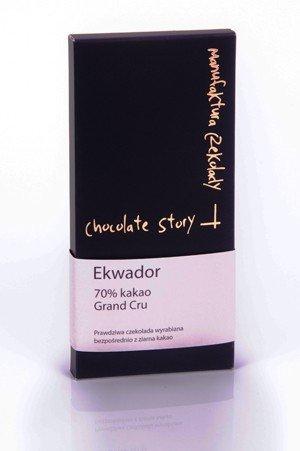 Czekolada deserowa Grand Cru [70% kakao z Ekwadoru] 50g