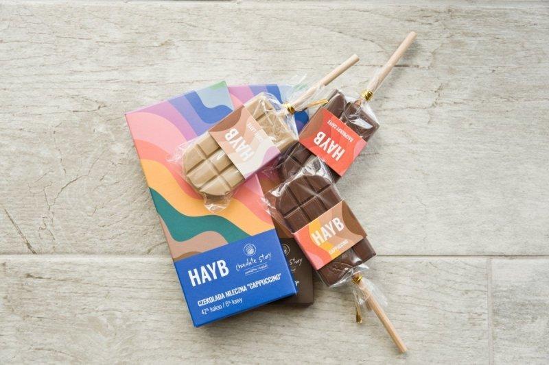 """HAYB czekolada ciemna 66% """"ESPRESSO"""""""