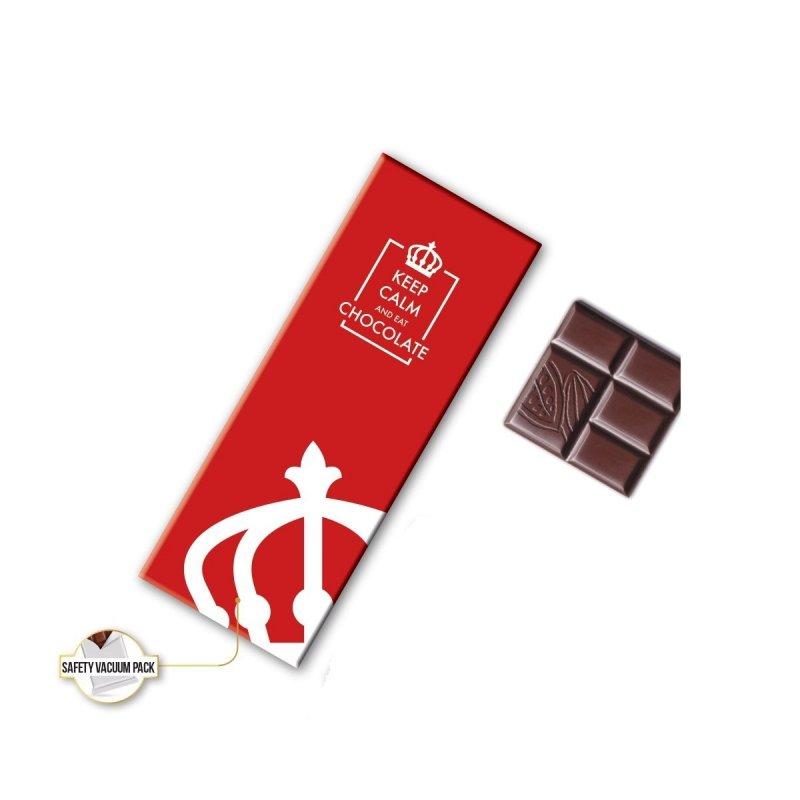 Kolekcja 3 czekoladek w pudełku z nadrukiem logo firmy SINGLE ORIGIN 2x20g