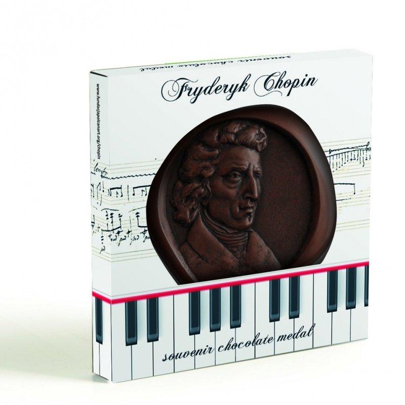 Czekoladowy medal Fryderyk Chopin II