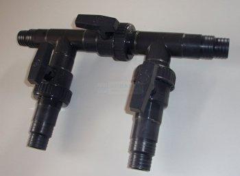 Bypass do pompy ciepła 32/38mm