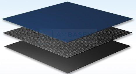 Płachta kryjąca 7,3x3,7 m Premium