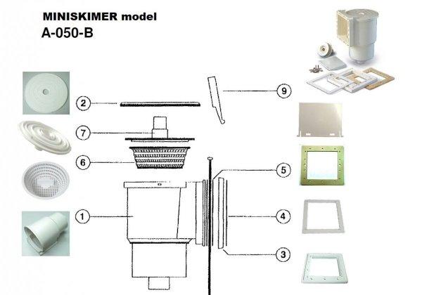 Skimmer Astral MINI z dyszą