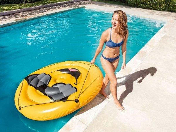 Emotka materac-leżanka na basen,plaże INTEX 57254