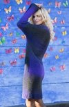 Fobya F579 sukienka fioletowa