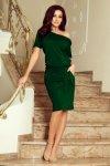 Wygodna sukienka z wiązaniem Cassie Numoco 249-2-1