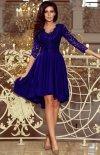 Sukienka chabrowa z dłuższym tyłem Numoco 210-4_1