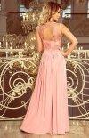 Wieczorowa długa sukienka Lea Numoco 215-4  tył