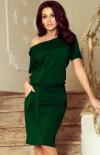 Wygodna sukienka z wiązaniem Cassie Numoco 249-2