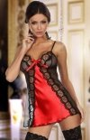 Beauty Night Michele chemise red komplet