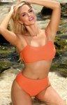 Marko dwuczęściowy kostium kąpielowy Rachela Orange M-614