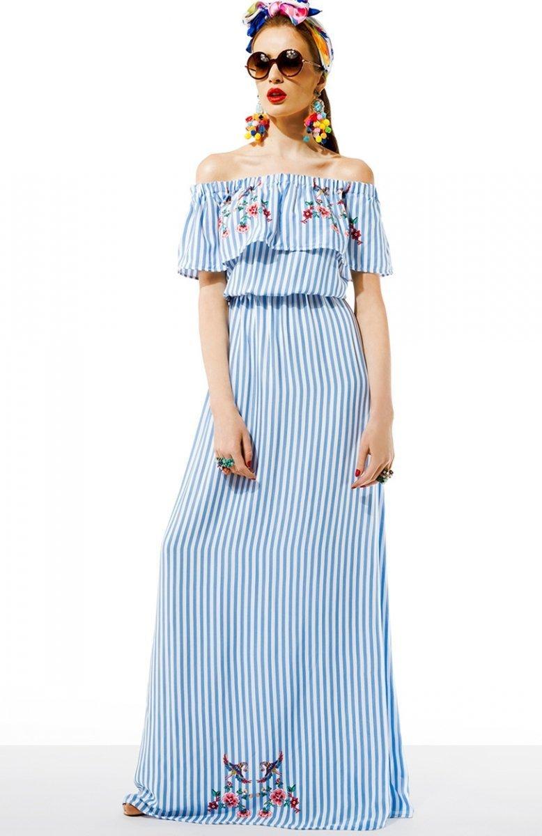 79b934ce Kasia Miciak design amore sukienka z falbaną - Sukienki letnie 2017 ...