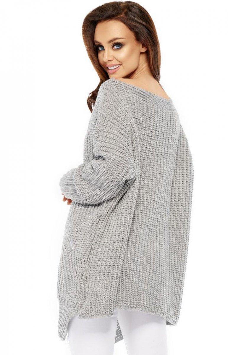 44809493 Lemoniade LS209 sweter szary