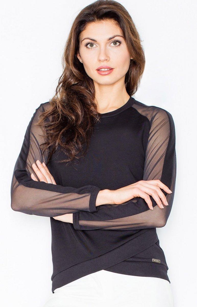 a9437c1a0a47ac Figl M467 bluzka czarna - Bluzki i Koszule damskie - Eleganckie ...