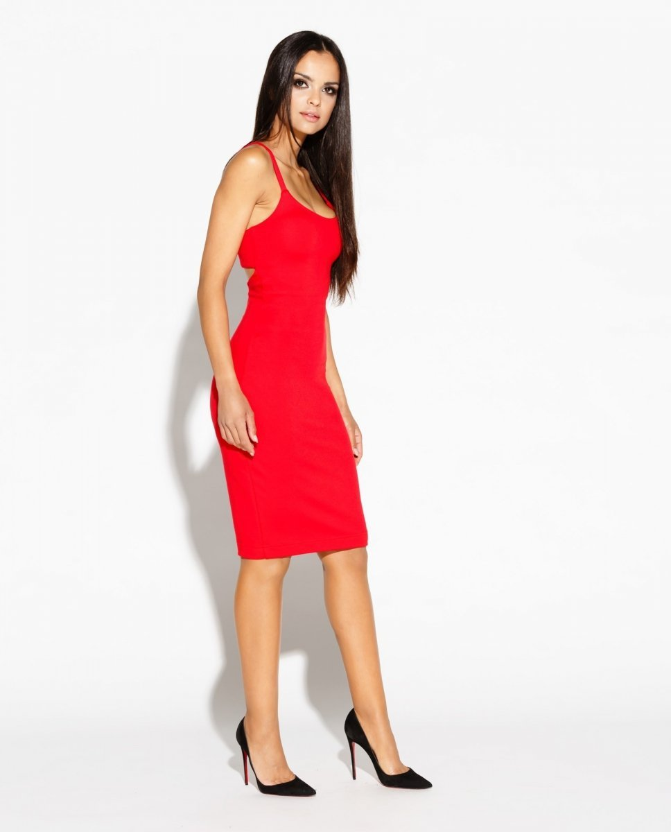 b2f42ef4 Dursi Roxet sukienka czerwona - Sukienki damskie Dursi - Modne ...